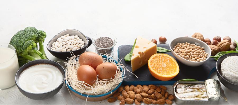 10 alimentos ricos en calcio