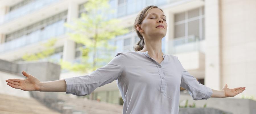 Cómo la respiración puede hacerte sentir mucho mejor